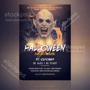 halloween-nightmare-flyer-free