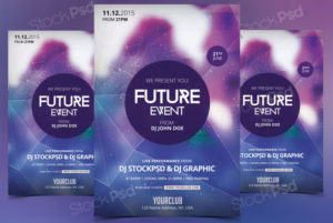 future-event-free-psd-flyer