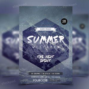 summer-mixtapes-flyer-free