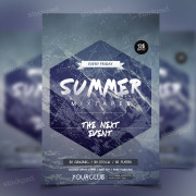 summer-mixtapes-flyer-freebie