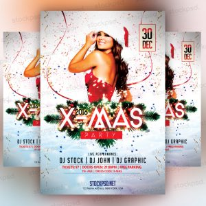 xmas-party-free-psd-flyer