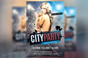 cityparty-free-psd