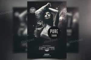 pure-sound-free-psdflyer