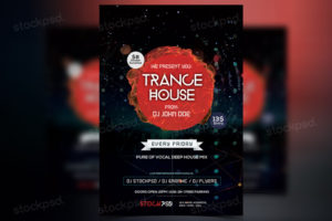 trance-house-free-flyers