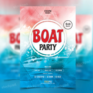 boat-party---free-psd-flyer