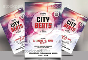 city-beats-free-psd-flyer-768x523