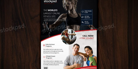fitness-free-psd-flyer