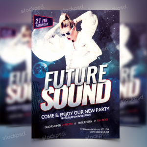 future-sound-free-psd-flyers