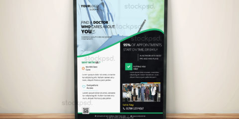 stockpsd-free-medical-flyer