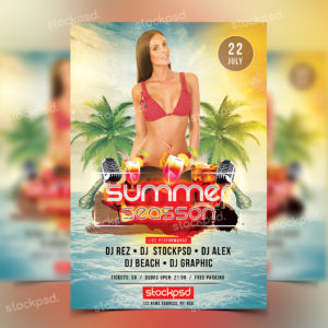 summer-season-free-psd-flyer