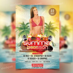 summer-season-free-psd-flyer-768x768