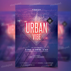 urban-vibe---free-psd-party-flyer