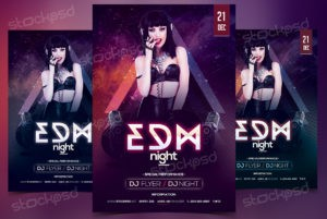 edm-night-free-psd-flyer-template