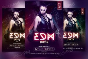 edm-party-freebie-psd-flyer