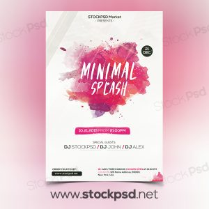 minimal-freebie-psd-flyer-template