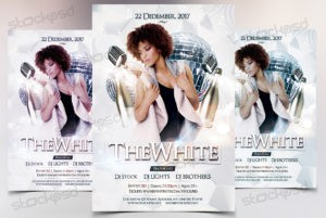 the-white-free-psd-flyer-template