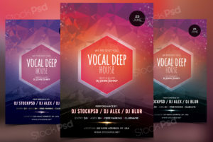 vocal-deep-house-free-psd-flyer